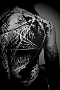 pentagramonback
