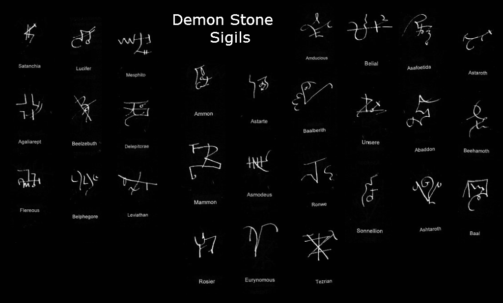 Demon Stones Encyclopedia Satanica