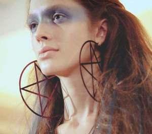 satanicearrings