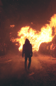 lonemanwalkingawayfromfire